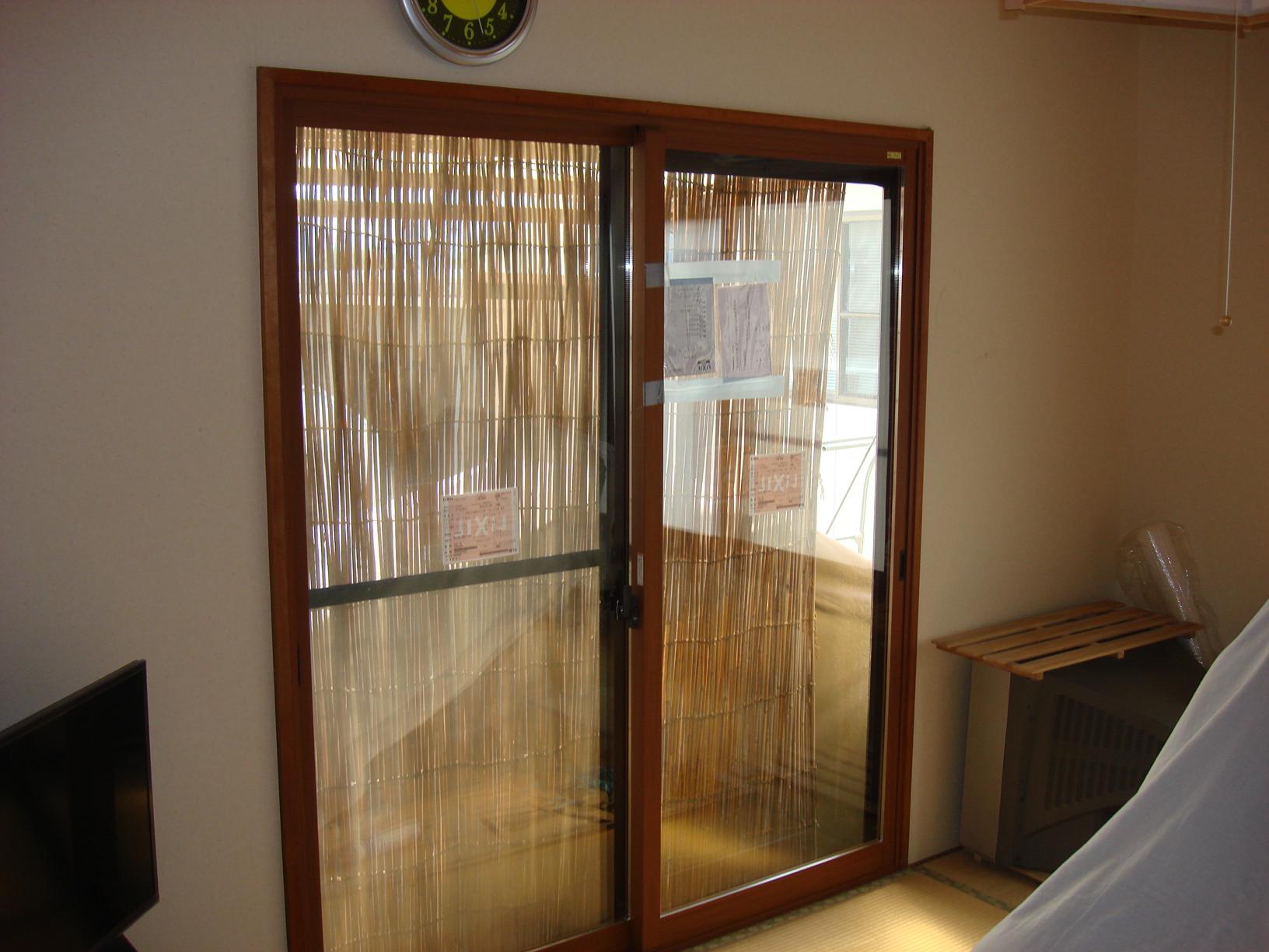 シーエス建材トーヨー住器の今あるマドの内側への施工事例写真