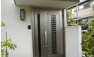 施工事例:ストレスフリー玄関交換