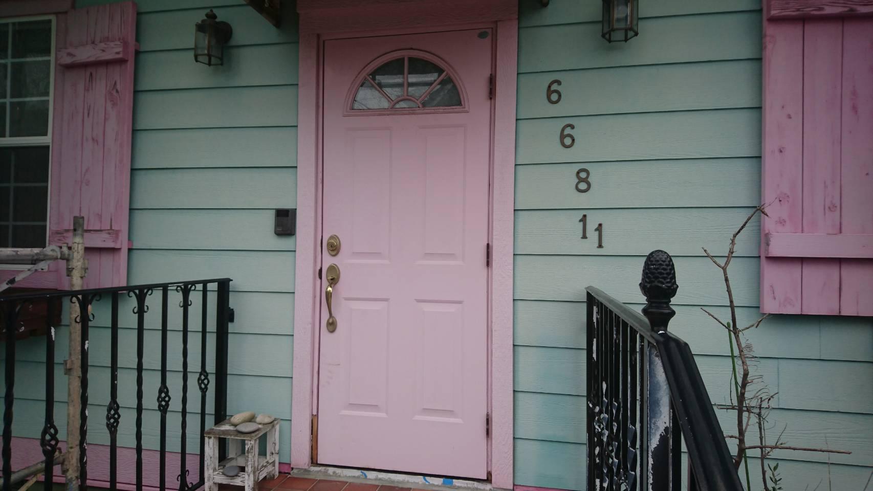 シーエス建材トーヨー住器の玄関リフォームの施工前の写真1