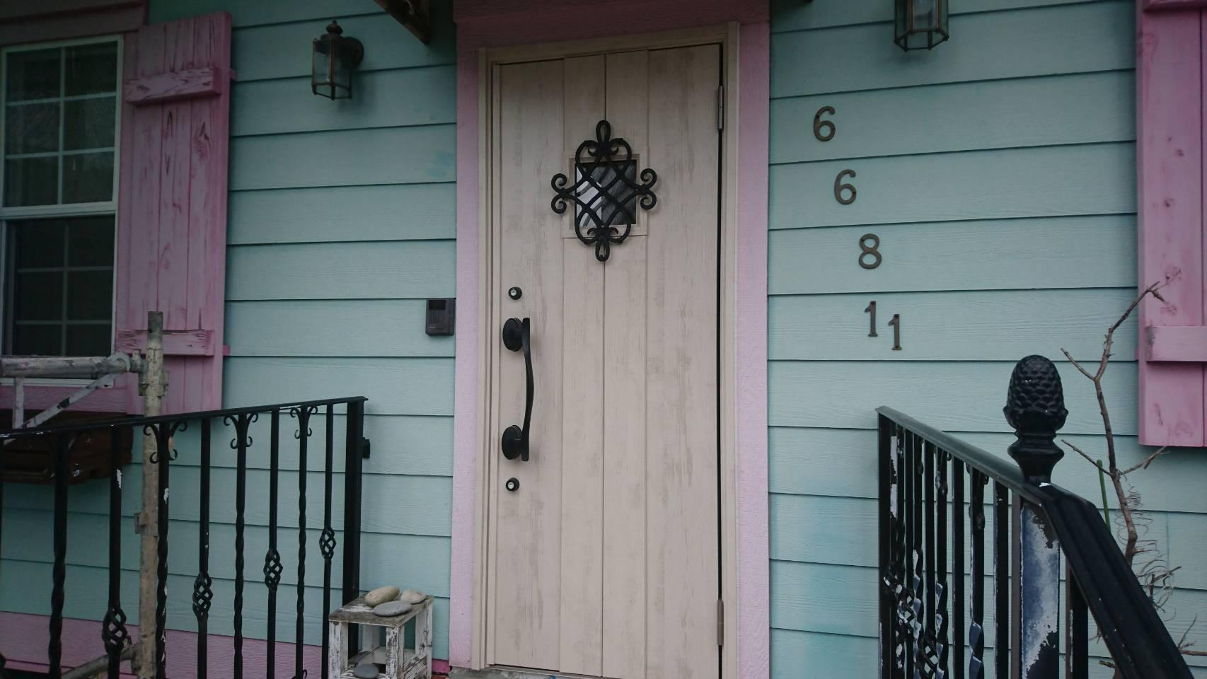 シーエス建材トーヨー住器の玄関リフォームの施工事例写真