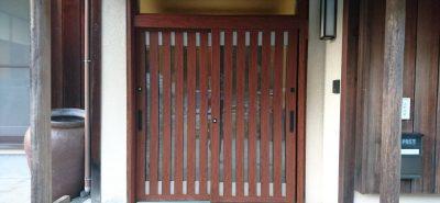 施工事例:リシェント 玄関引戸取替え工事 機能性能向上
