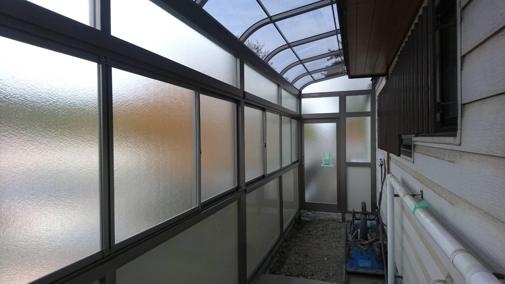 シーエス建材トーヨー住器のスペースの有効活用 サニージュ テラス囲いの施工事例写真