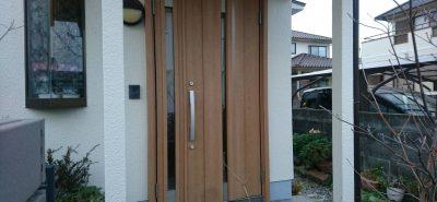 施工事例:令和 大人気 改装リフォームドア