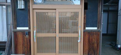 施工事例:リシェント 玄関引戸 交換
