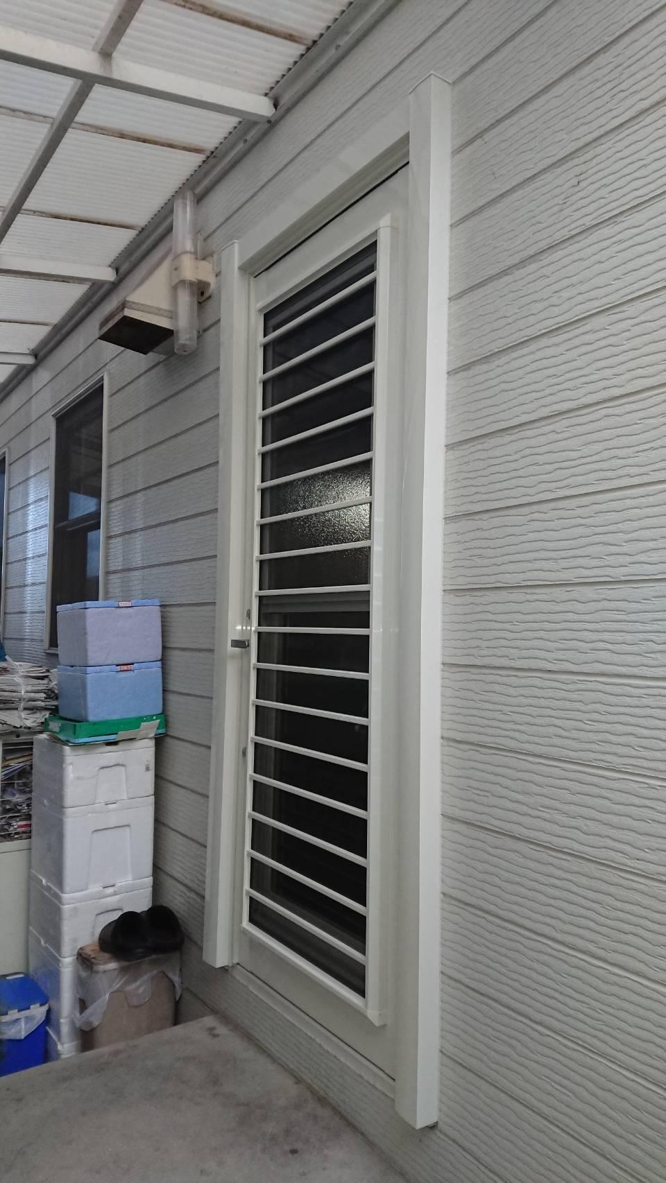 シーエス建材トーヨー住器の生活向上 勝手口交換 リシェント 岡山市の施工事例写真