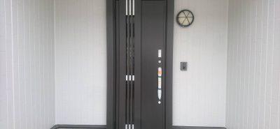 施工事例:玄関ドア リシェント 交換工事