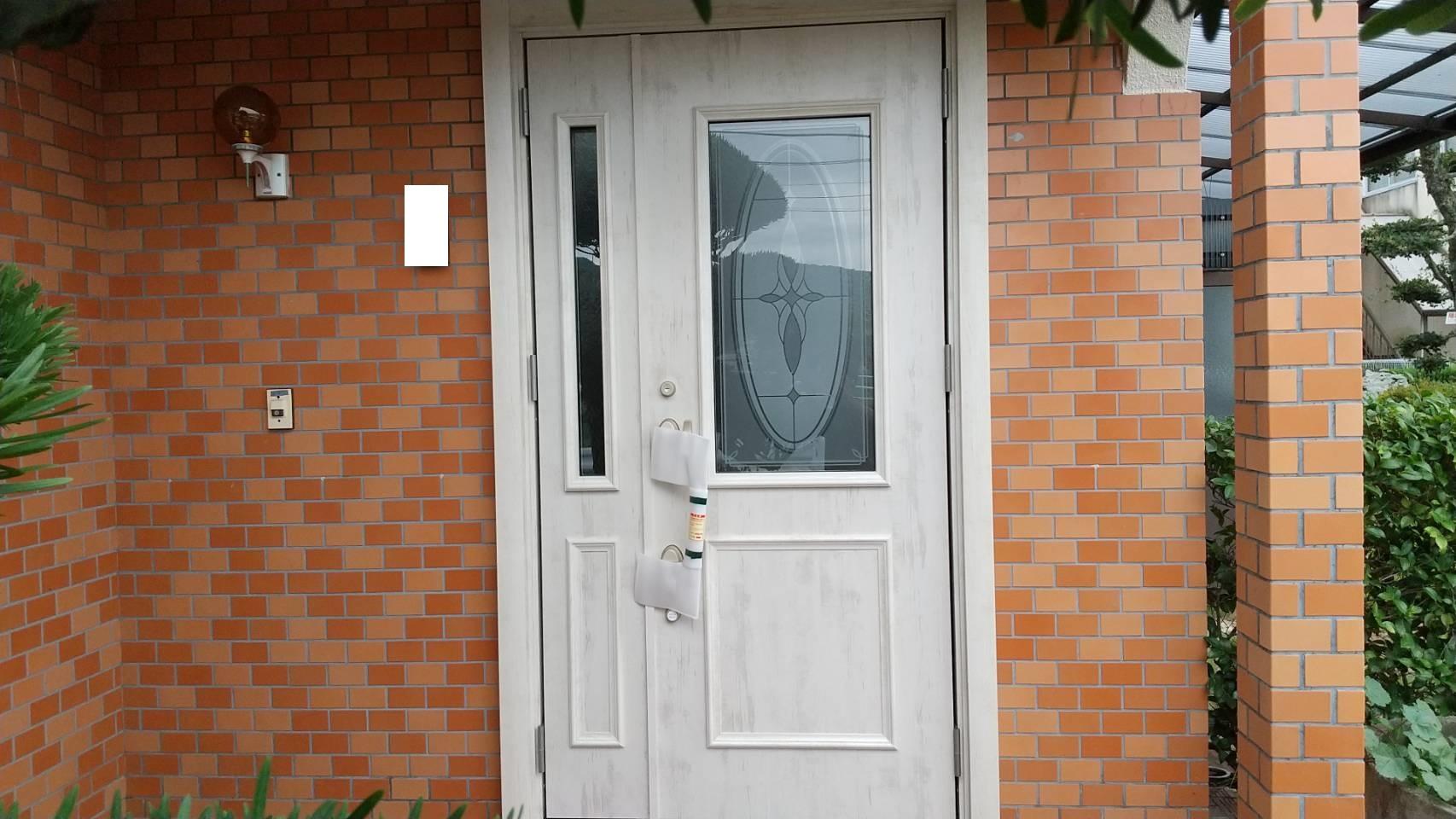シーエス建材トーヨー住器の玄関 リフォーム工事の施工事例写真
