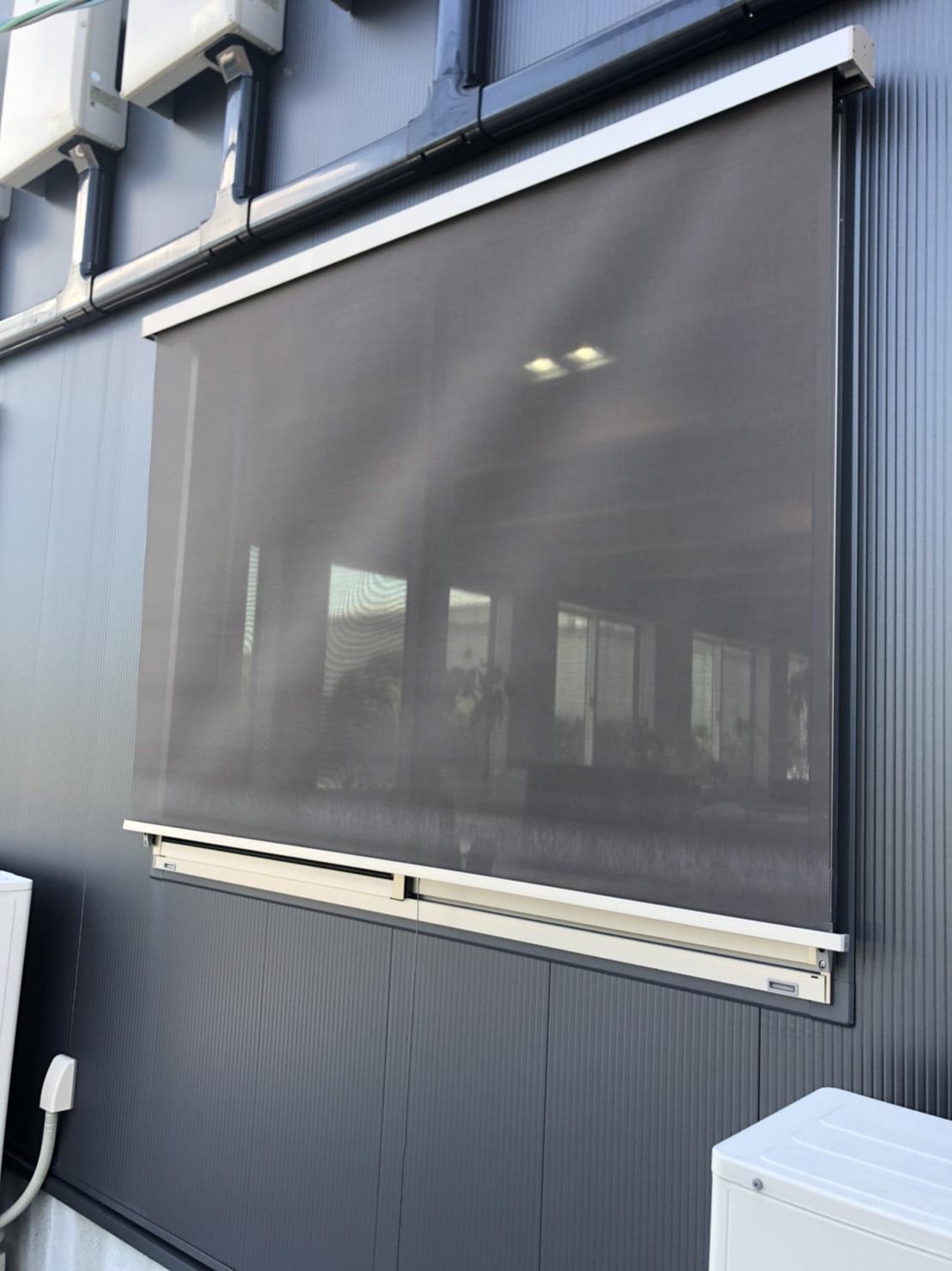 猛暑 対策 日よけスタイルシェード シーエス建材トーヨー住器の現場ブログ メイン写真