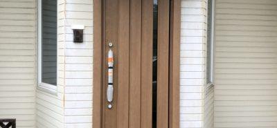 施工事例:赤磐市 玄関ドア交換 リフォーム