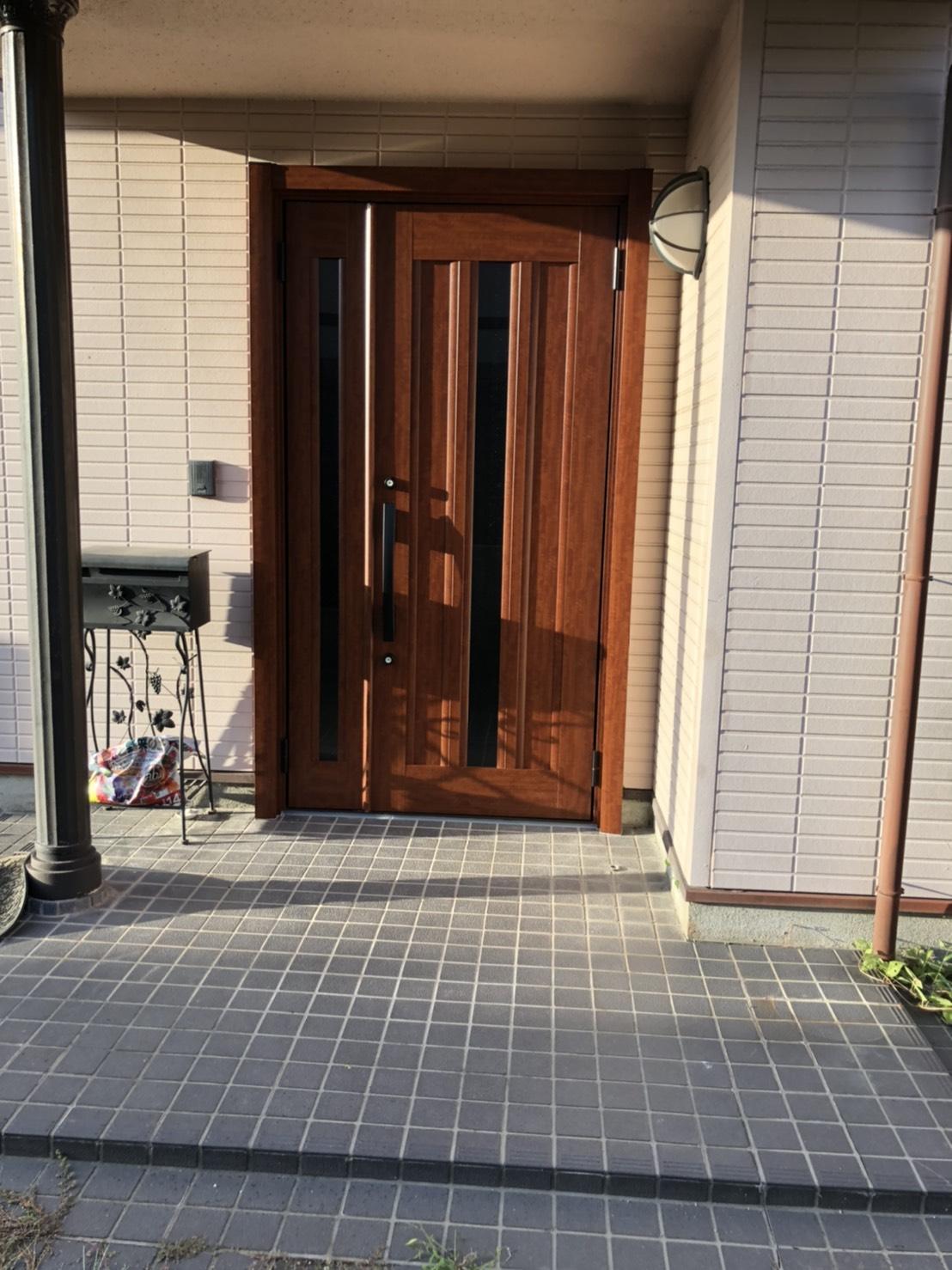 赤磐市 玄関ドア リフォーム